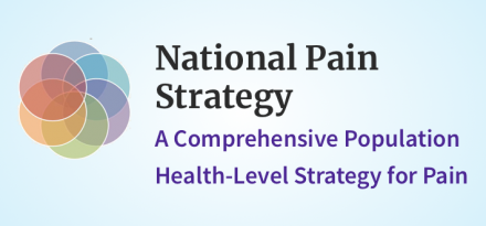 National Pain Strategy: A Comprehensive Population Health-Level Strategy for Pain banner/logo